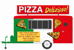 HIN7003 Hornby Int.   Italian Pizza Catering Trailer